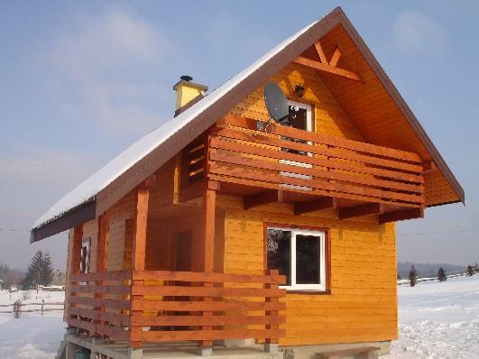 Nowy domek z kominkiem,3-sypialnie