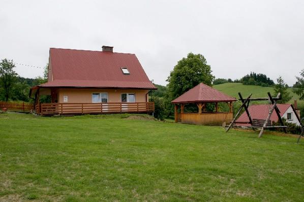 Dom z zewnątrz.