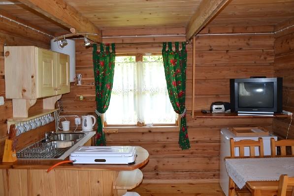 Domek Modrzewiowy - więcej zdjęć na www.domkipodhorbem.pl