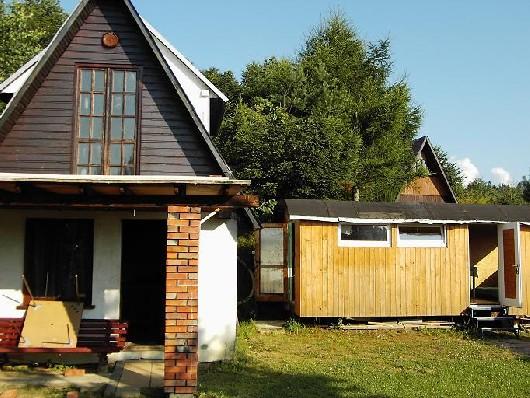 Duży i mały domek