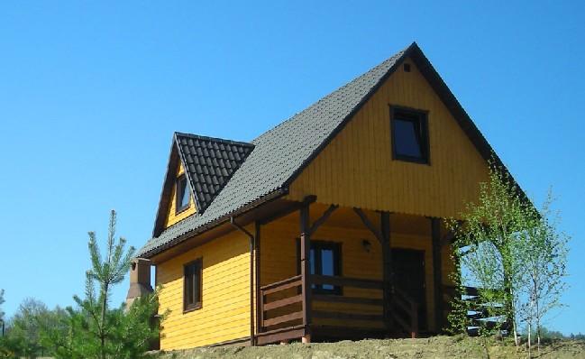 Domek z kamiennym grillem
