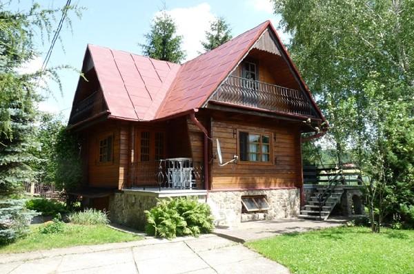 Widok ogolny, Cabin's main entrance