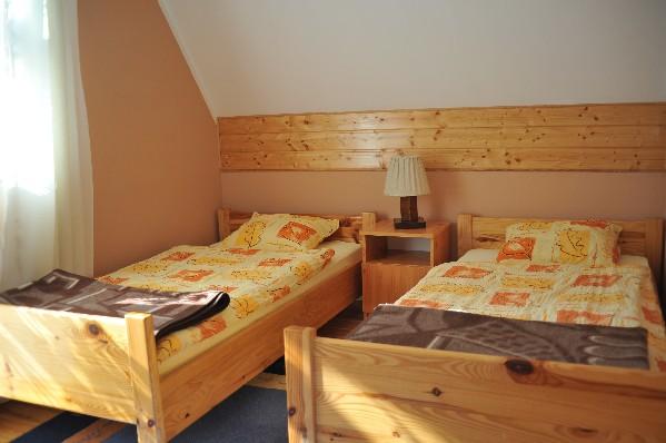 sypialnia domek 6-osobowy