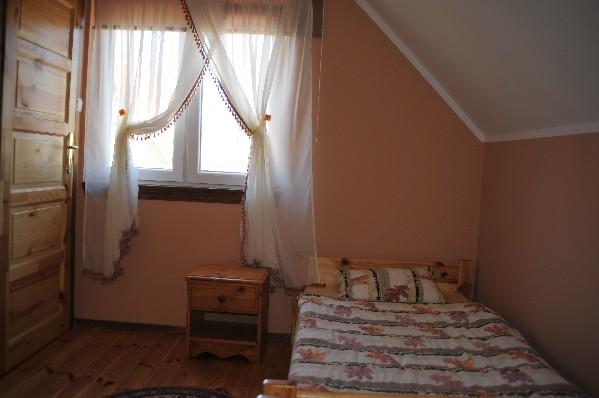 sypialnia domek 4-osobowy