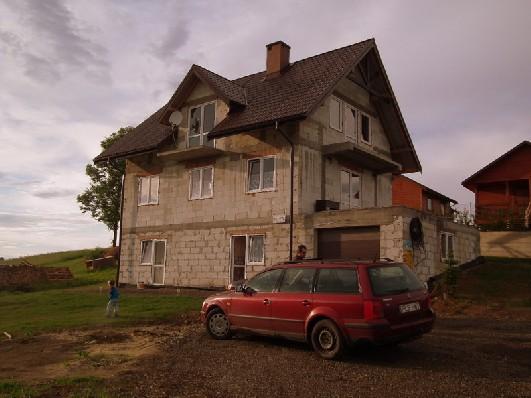 Nasz nowowybudowany dom