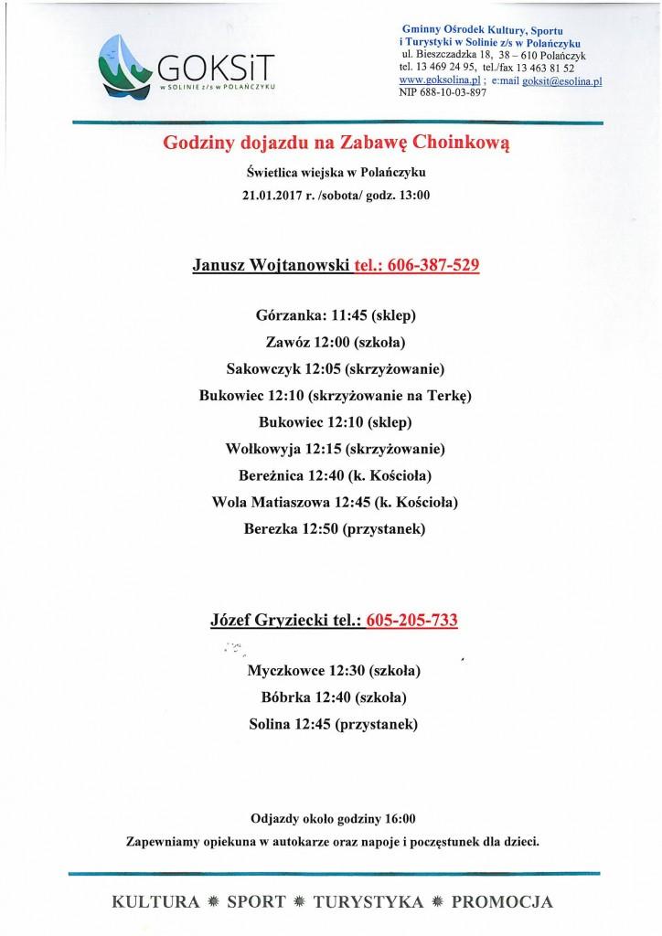 zabawa choinkowa 21 stycznia 2017 r.-1