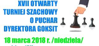 Komunikat organizacyjny turnieju szachowego