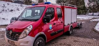 Przekazanie samochodu ratowniczo-gaśniczego do OSP w Bóbrce