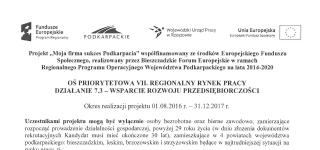 """Moja firma sukces Podkarpacia"""