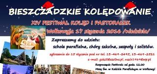 BIESZCZADZKIE KOLĘDOWANIE – XIV Festiwal Kolęd i Pastorałek