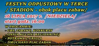 FESTYN ODPUSTOWY W TERCE – 16 LIPCA 2017r.