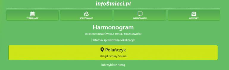 Zachęcamy do skorzystania z darmowej aplikacji InfoŚmieci