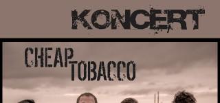 Koncert  zespołu CHEAP TOBACCO – 12 września /Polańczyk amfiteatr/