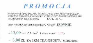 Wiosenna promocja Gminnego Zakładu Komunalnego