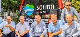 Spotkanie władz Gminy Solina z Polskimi Kolejami Linowymi