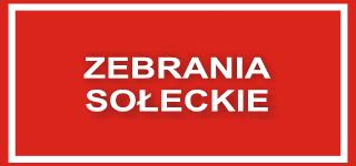 Zebrania Sołeckie 2020