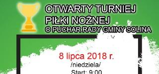 Otwarty Turniej Piłki Nożnej o Puchar Rady Gminy Solina