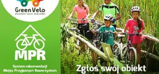 Zaproszenie do udziału w systemie rekomendacji Miejsc Przyjaznych Rowerzystom na Wschodnim Szlaku Rowerowym Green Velo.