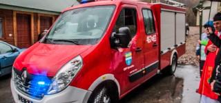 Nowy samochód dla OSP Górzanka