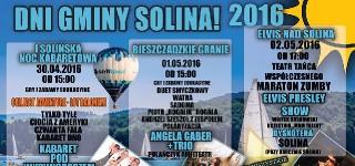 Dni Gminy Solina 2016 – majówka w Bieszczadach