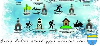 Gmina Solina zaprasza zimą