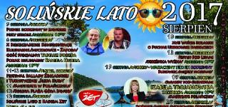 Solińskie Lato – Sierpień 2017