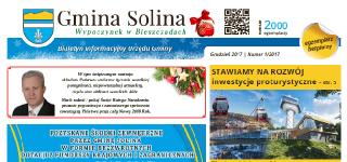 Biuletyn Informacyjny Urzędu Gminy Solina Nr 1/2017
